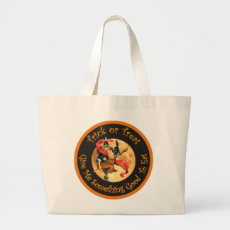 Trick or Treat - Give Me Something Good To Eat! Canvas Bags