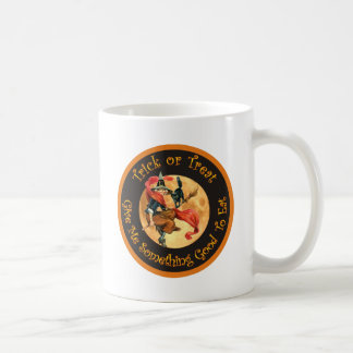 Trick or Treat - Give Me Something Good To Eat! Classic White Coffee Mug