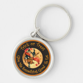 Trick or Treat - Give Me Something Good To Eat! Keychain