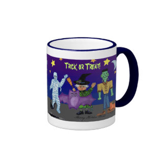 Trick or Treat Goblin Mug
