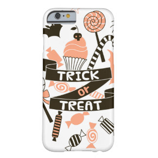 Trick or Treat Goodies Design Barely There iPhone 6 Case