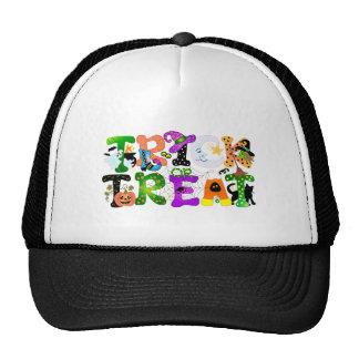 Trick or Treat Greeting Trucker Hat