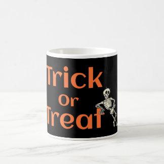 Trick Or Treat Halloweeen Coffee Mug