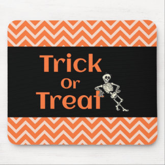 Trick Or Treat Halloweeen Mouse Pad