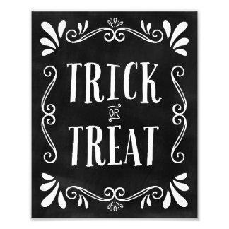 Trick or Treat | Halloween Art Print Photo Print