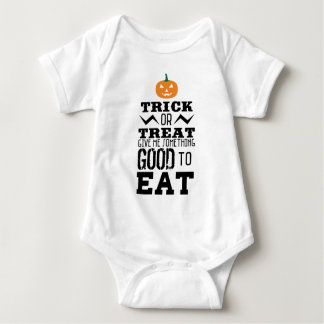 Trick Or Treat Halloween Baby Bodysuit