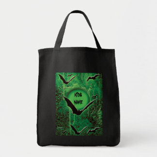 Trick or treat Halloween bat bags