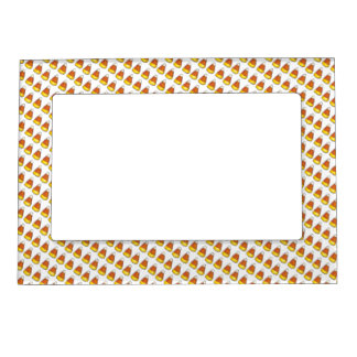 Trick-or-Treat Halloween Candy Corn Thanksgiving Magnetic Frame