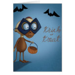 Trick or Treat - Halloween Card