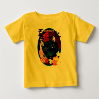 Trick or Treat Halloween Cat Oval Shirts