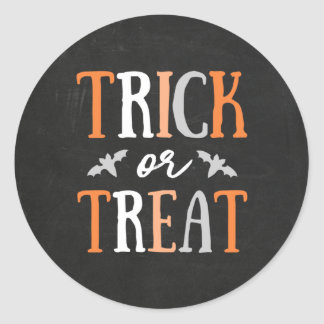 Trick or Treat | Halloween Classic Round Sticker