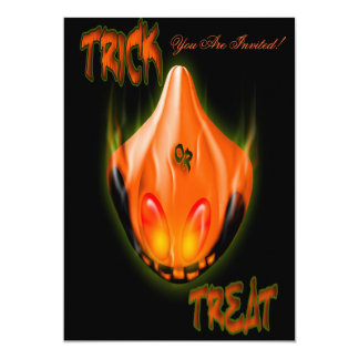 Trick or Treat Halloween Costume Party  Invitation