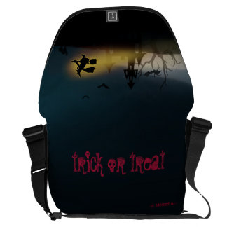 Trick or Treat:: Halloween:: Courier Bag