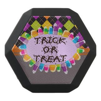 Trick or Treat Halloween Design Black Bluetooth Speaker