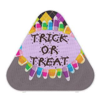 Trick or Treat Halloween Design Speaker