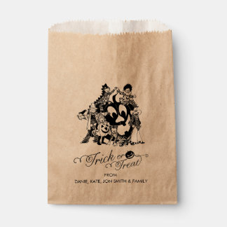 Trick or Treat Halloween Fun Costume Party Favor Bag