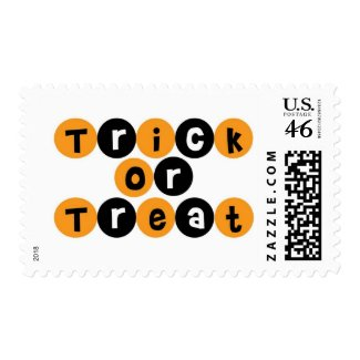 Trick or Treat Halloween Fun Stamp
