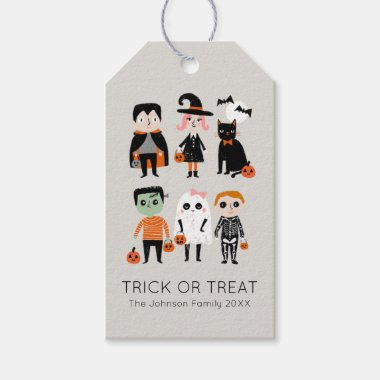 Trick or Treat halloween Gift Tags