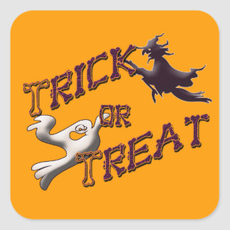 Trick or Treat Halloween Graphic Stickers