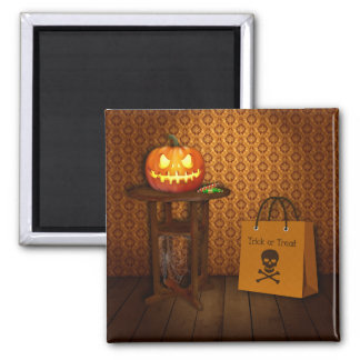 Trick or Treat - Halloween Magnet
