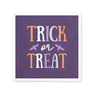Halloween Themed Trick or Treat   Halloween Napkin