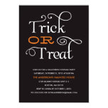 TRICK OR TREAT | HALLOWEEN PARTY INVITATION