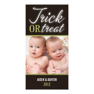 TRICK OR TREAT | HALLOWEEN PHOTO CARD