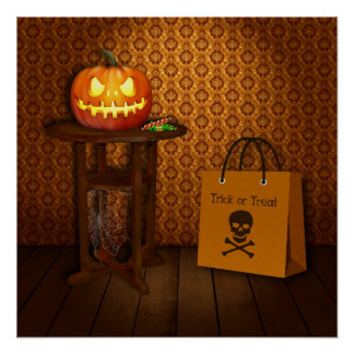 Trick or Treat - Halloween Poster