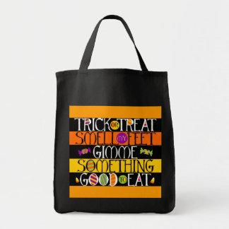 Trick or Treat Halloween Rhyme Bag