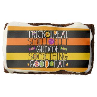 Trick or Treat Halloween Rhyme Brownie