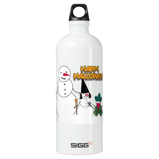 Trick or Treat Halloween Snowmen SIGG Traveler 1.0L Water Bottle
