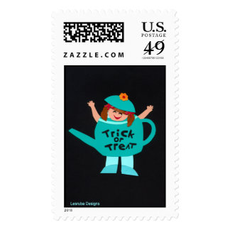 Trick-or-Treat Halloween Stamps