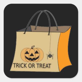 Trick or Treat Halloween Sticker