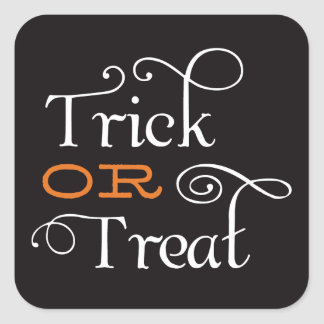 TRICK OR TREAT | HALLOWEEN STICKERS