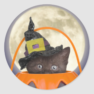 Trick or Treat Halloween Stickers