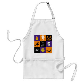 Trick or Treat Halloween Themes Adult Apron