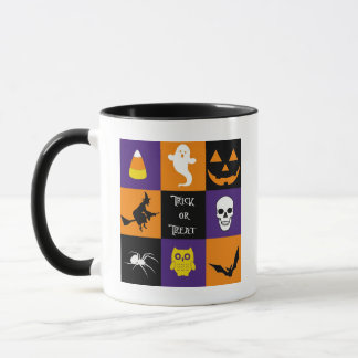 Trick or Treat Halloween Themes Mug