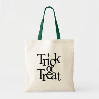 ■□▪▫TRICK OR TREAT HALLOWEEN TOTE BAG