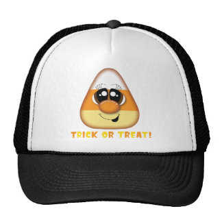 Trick or Treat Halloween Tshirt Mesh Hats