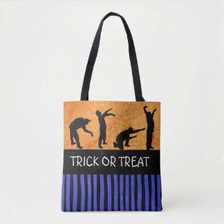 Trick or Treat Halloween Zombie Candy Bag