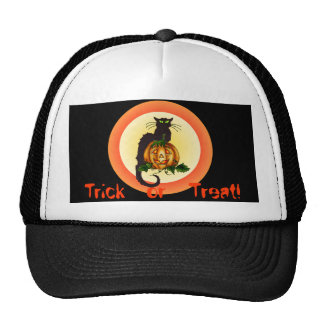 TRICK or TREAT HAT by SHARON SHARPE