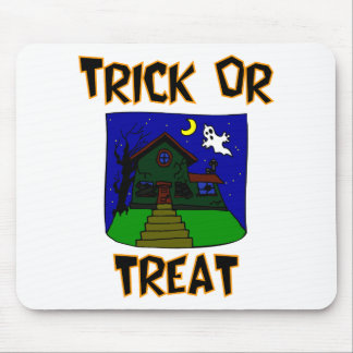 Trick Or Treat (Haunted House) Mouse Pad