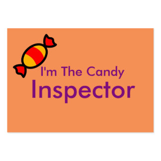 trick or treat helper large business cards (Pack of 100)