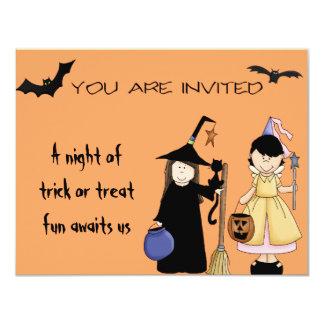 Trick Or Treat Invites