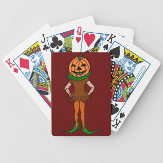 Trick or Treat Jackolanternman Bicycle Playing Cards