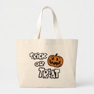 Trick or Treat Jumbo Tote Bag