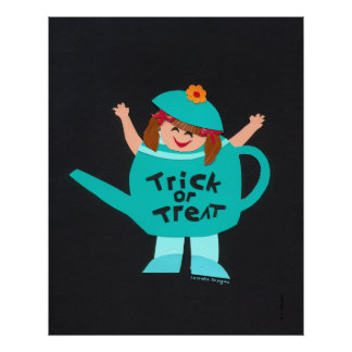 Trick-or-Treat Kids Halloween Poster