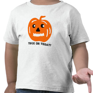 Trick Or Treat Kids Halloween Pumpkin T-Shirt 3