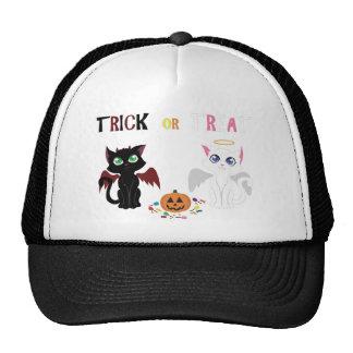 Trick or Treat Kittens Trucker Hat