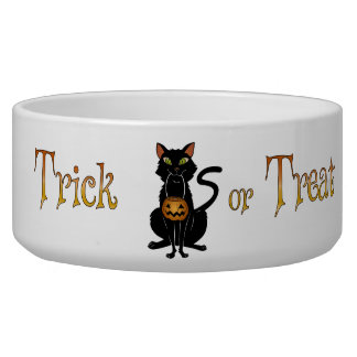 Trick or Treat Kitty Bowl